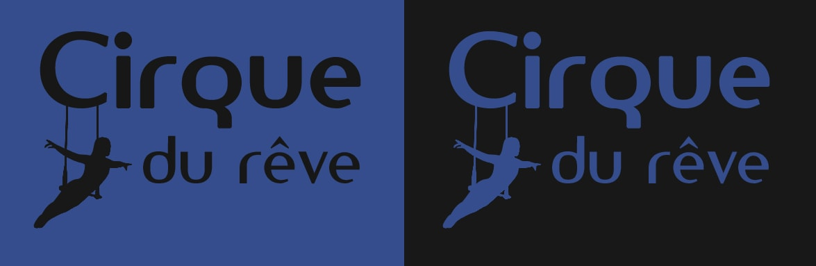 logotype cirque contemporain