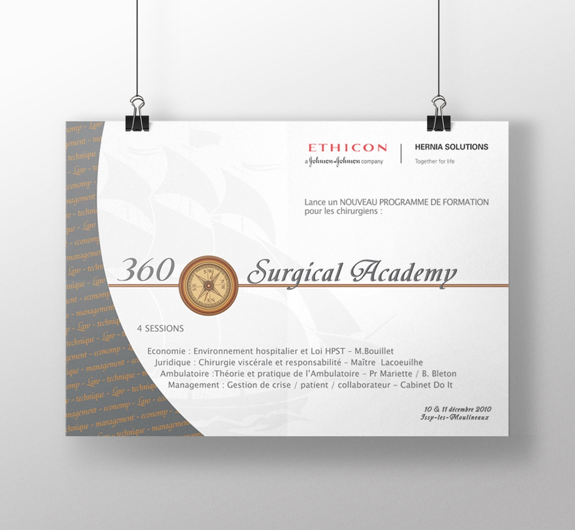 Affiche 360 Surgical Academy